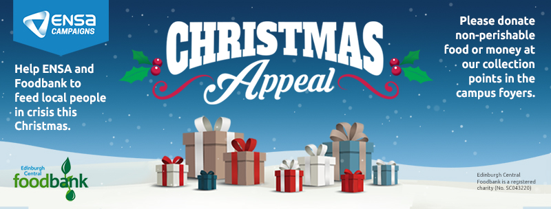 Christmas Appeal Edinburgh Napier Students Association