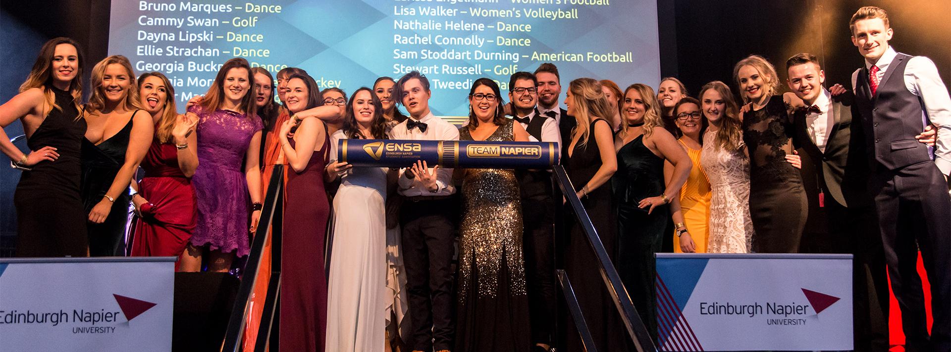 0b346e1ba49e9f Team Napier Societies   Sports Awards Winners - Edinburgh Napier ...