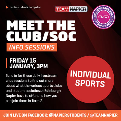 Meet the Individual Sports Clubs