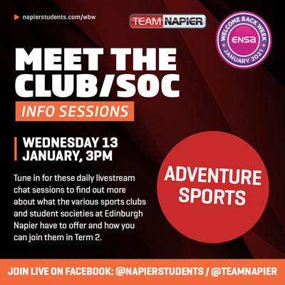 Meet the Adventure Sports Clubs