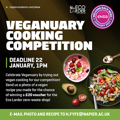 Veganuary Cooking Competition